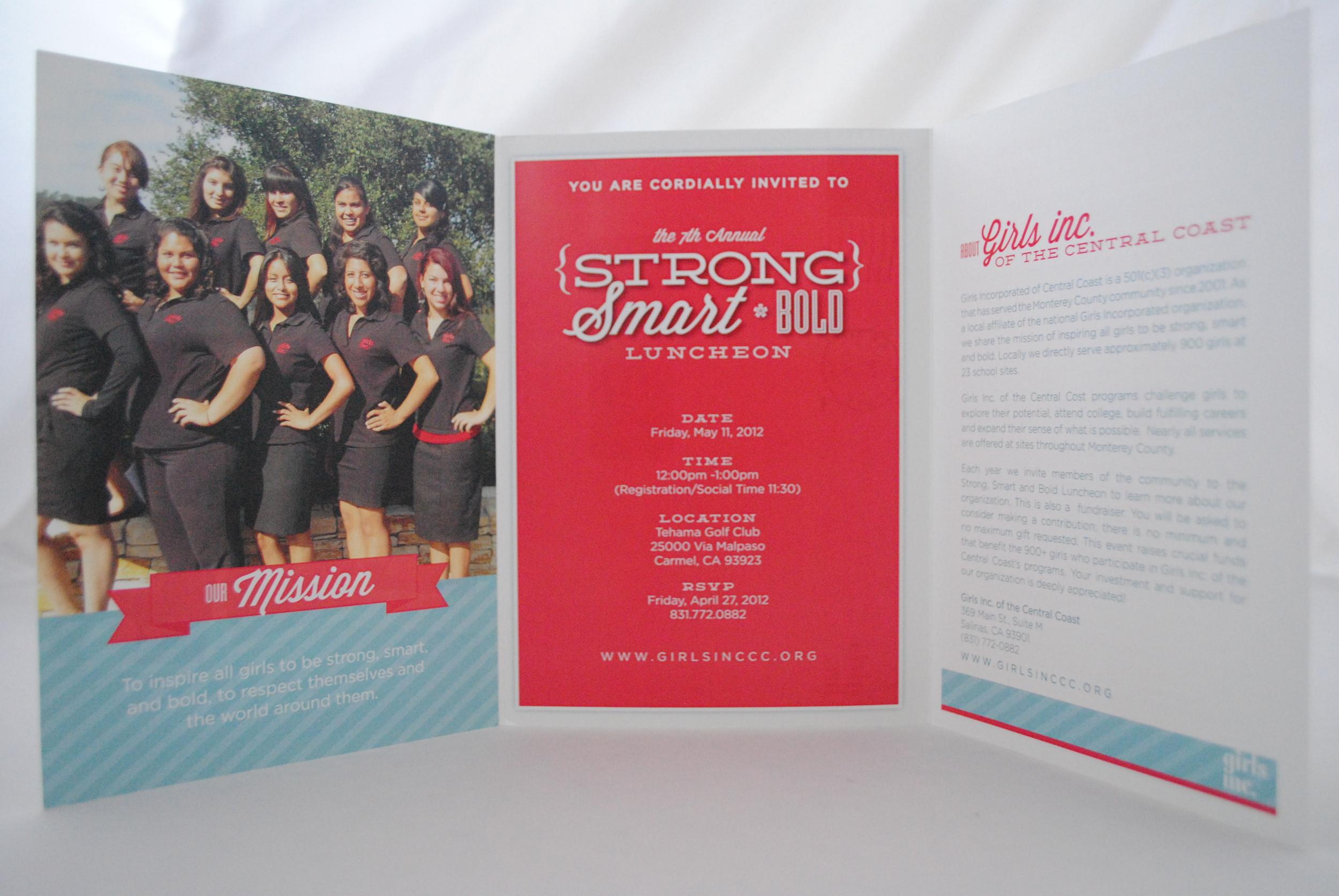 Girls Inc. Invitation