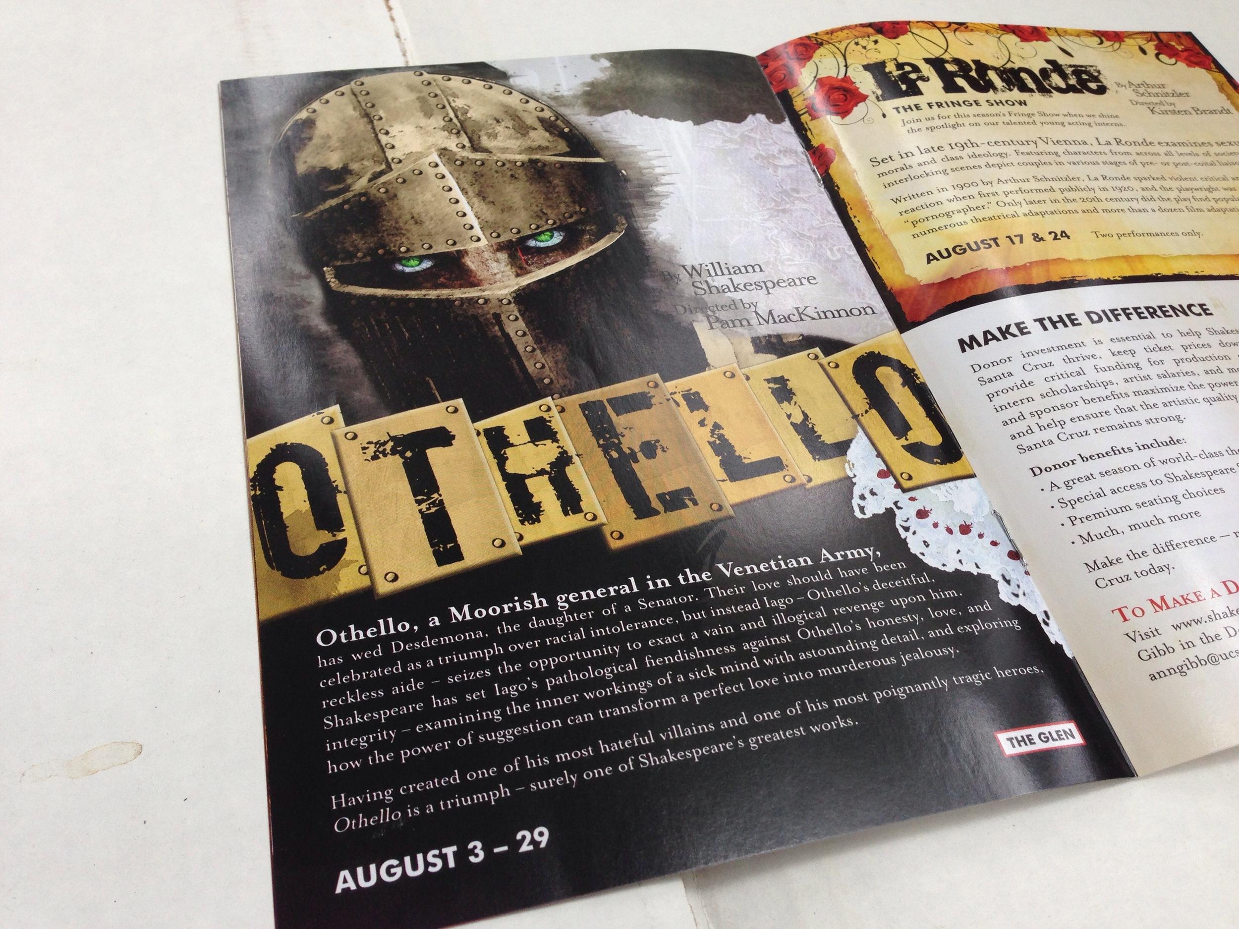 Shakespeare Santa Cruz - Othello