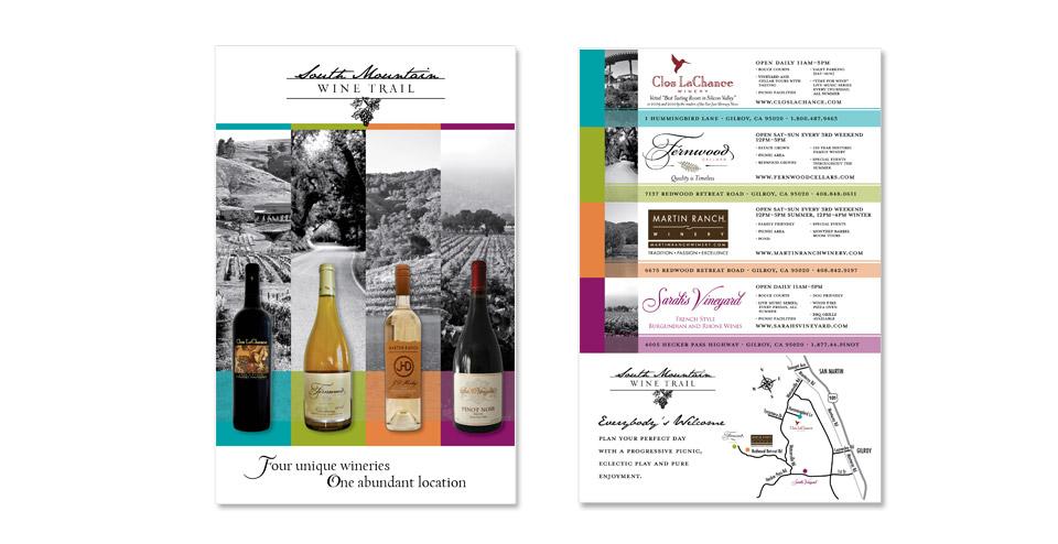 South Mountain Wine Trail Postcard