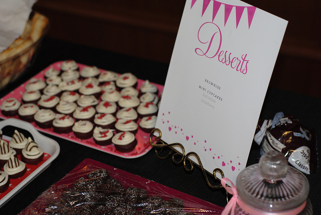 Priscilla's Bridal Shower Desserts