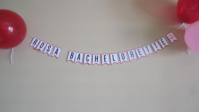 Rosa's Bachelorette Banner