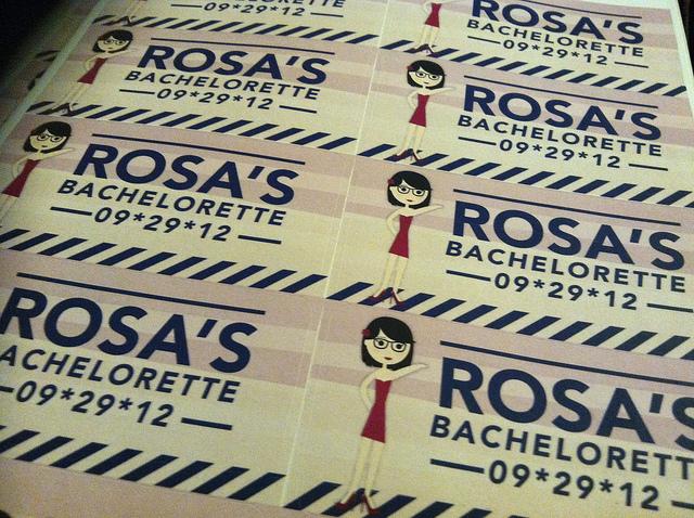 Rosa's Bachelorette Stickers