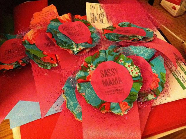Rosa's Bachelorette badges