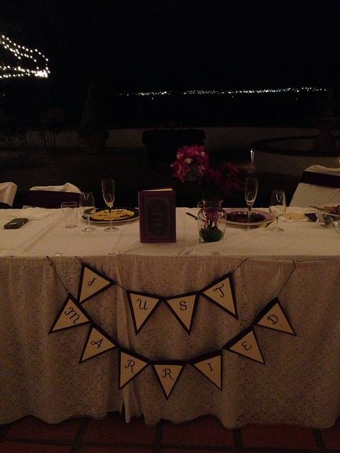 Tito + Jamie Wedding Sweetheart table