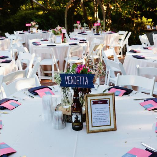 Rosa + Adam's Wedding Tables