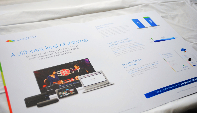 Google Fiber Landlord Brochure