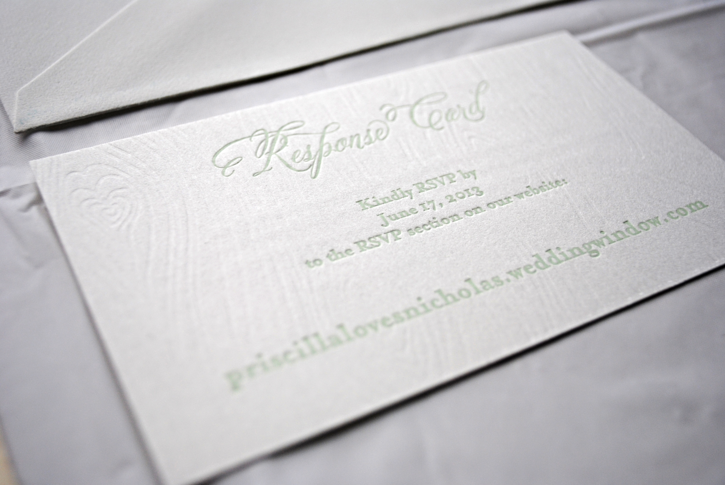 Priscilla and Nick Detail Card