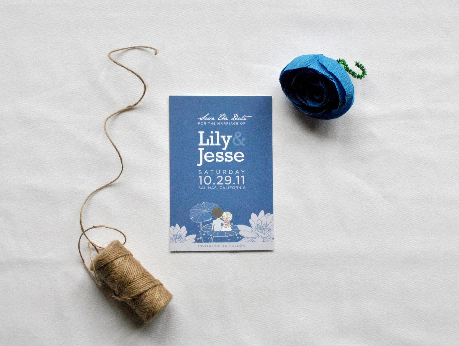 Lily + Jesse Save the Date