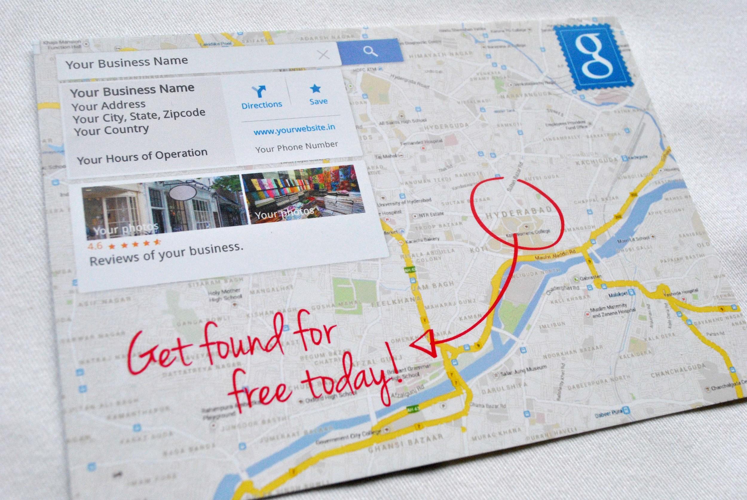 Google Get Found Campaign