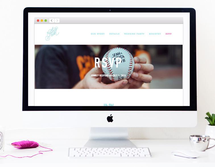 Rita + Sean Wedding Website - RSVP