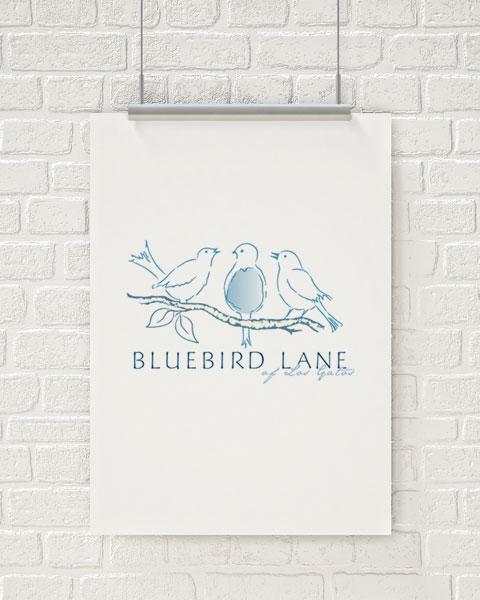 Bluebird Lane of Los Gatos Logo