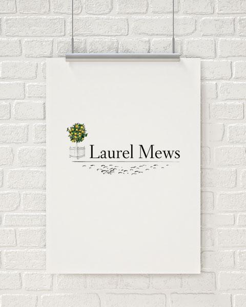 Laurel Mews Logo