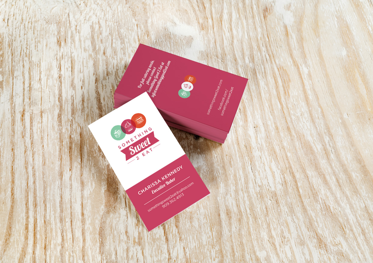 Something Sweet 2 Eat Business Card