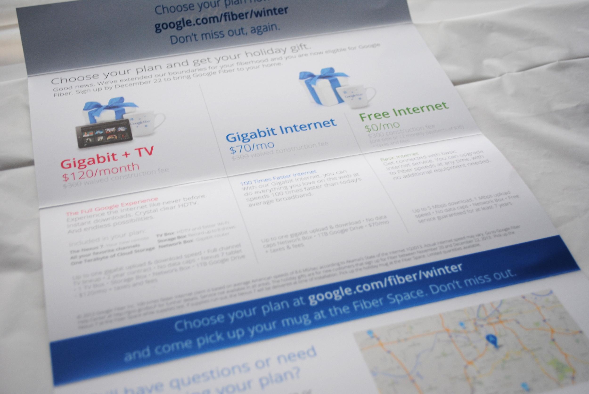 Google Fiber Holiday Campaign-Interior