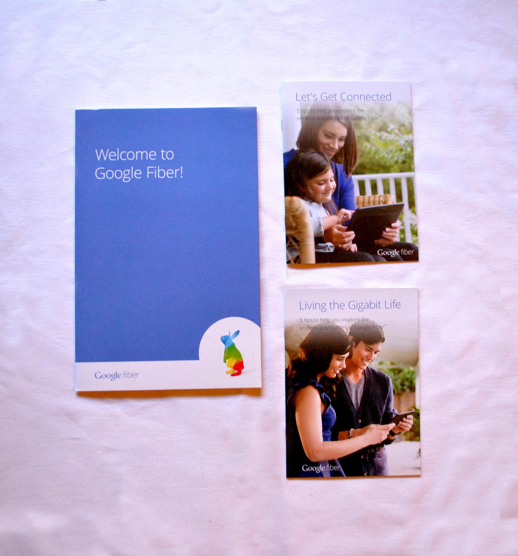 Google Fiber Booklets