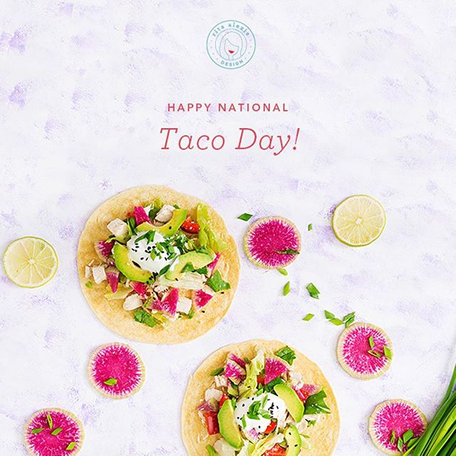 It's pretty clear that we all love tacos. Even though I'm not a huge meat eater, my fave are carnitas!!! Which taco is your fave?! #nationaltacoday⠀