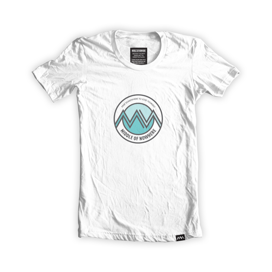 middle of nowhere tshirt