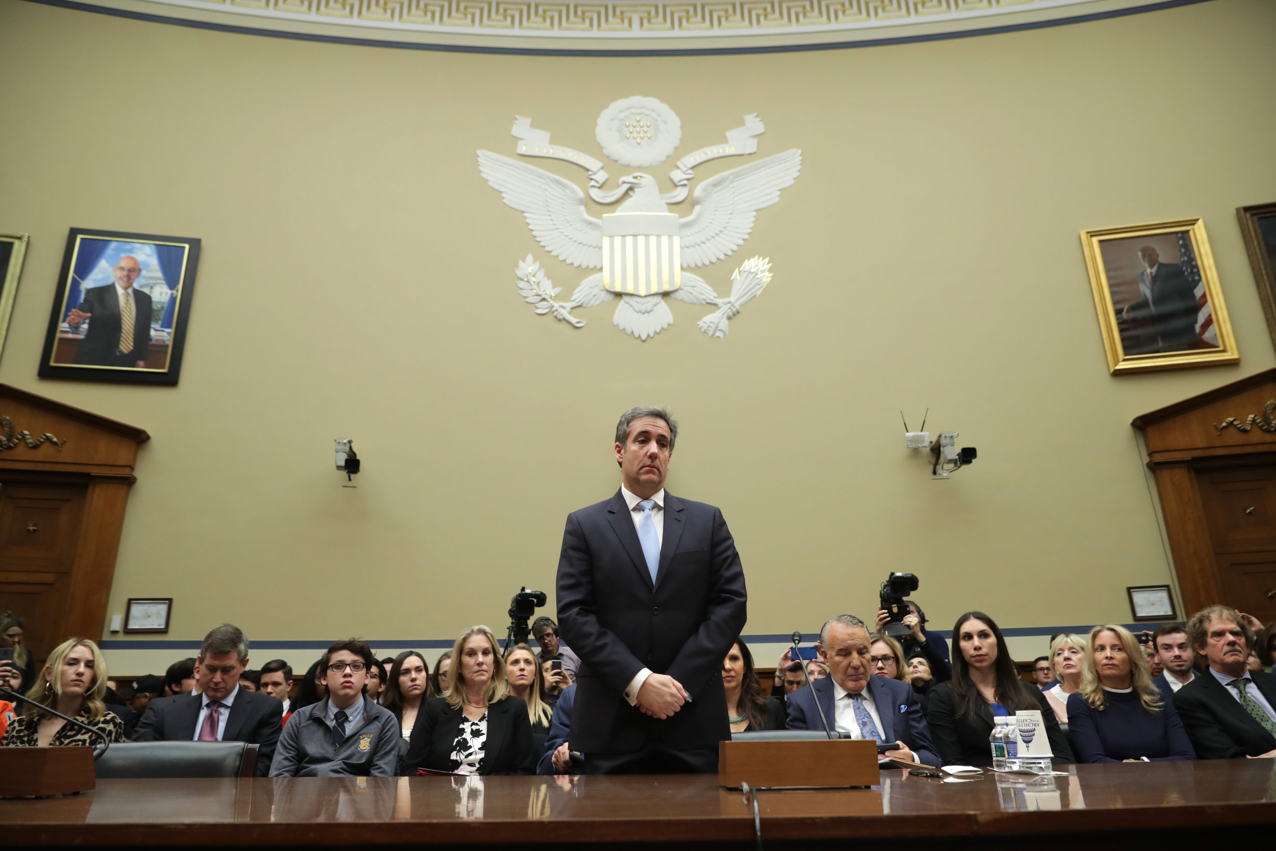 The New Yorker:  The Cohen Hearing In Three Minutes