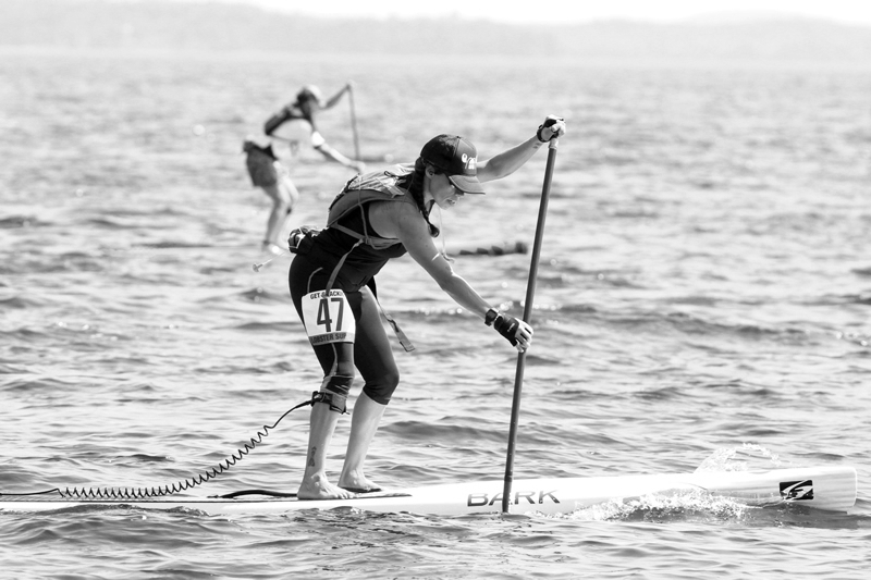 Brystle Noble competing at Lobster Sup Cup 2014