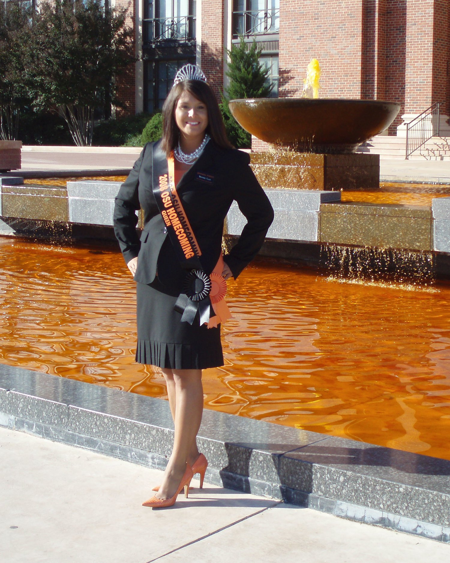 Brooke Clay Taylor: 2008 Homecoming Queen, Oklahoma State University