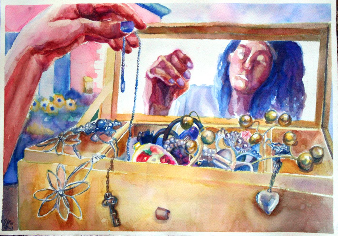 Feminine Mystique Paintings (2011)