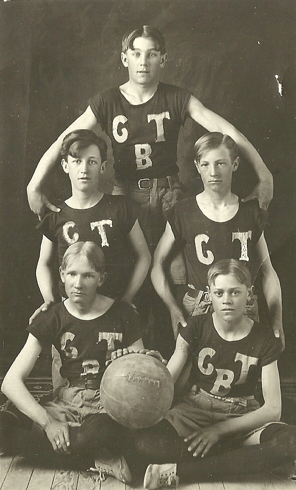 Centerfield's First Basketball Team