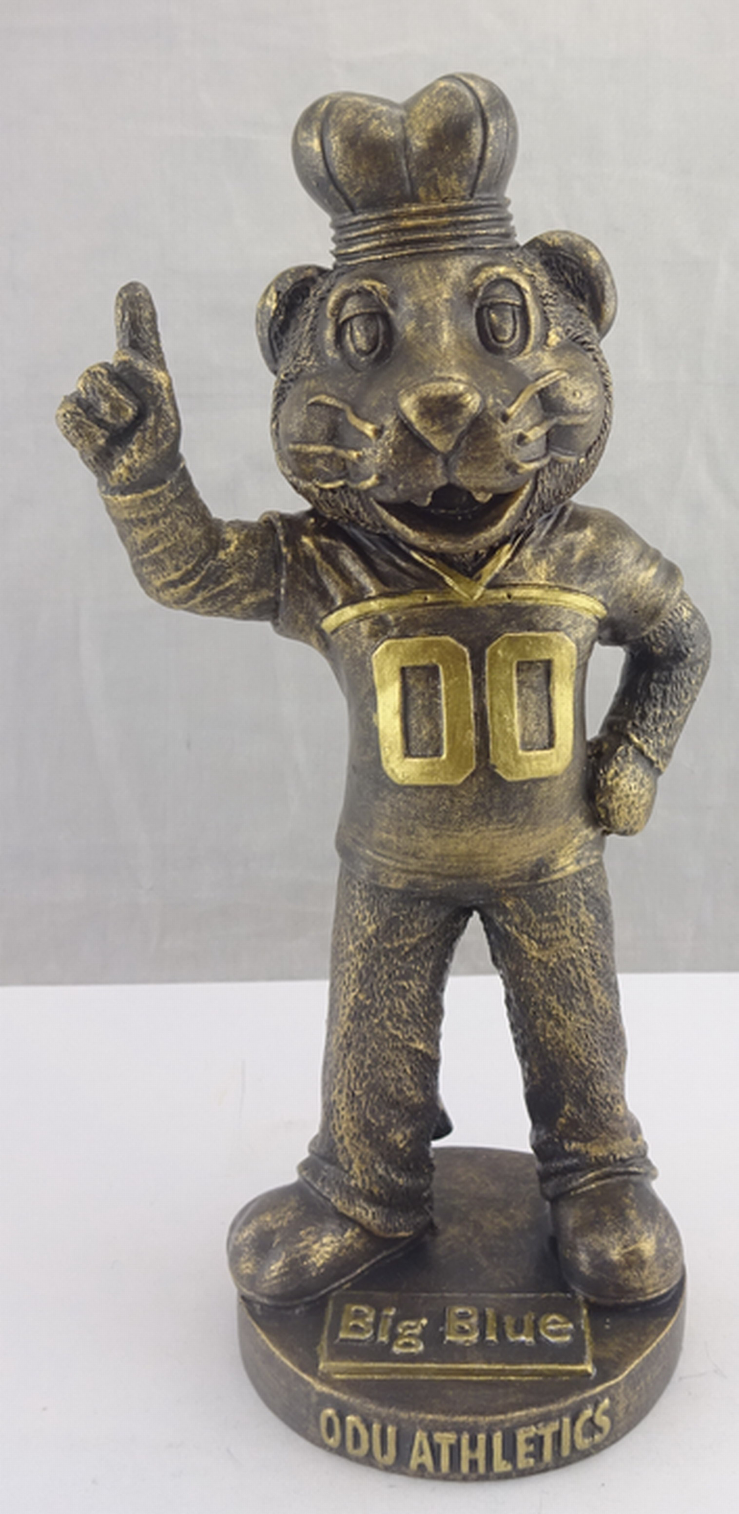 Old Dominion University - Big Blue 113063, 6.25in 12th Scale Bronze Statue (1).jpg