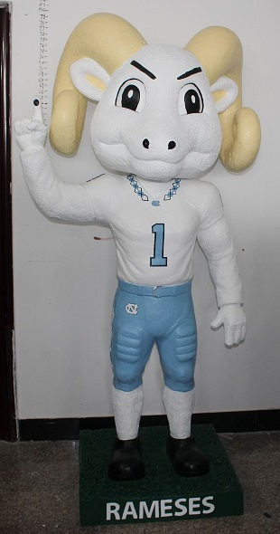 University of North Carolina - Rameses, 6'3in.JPG