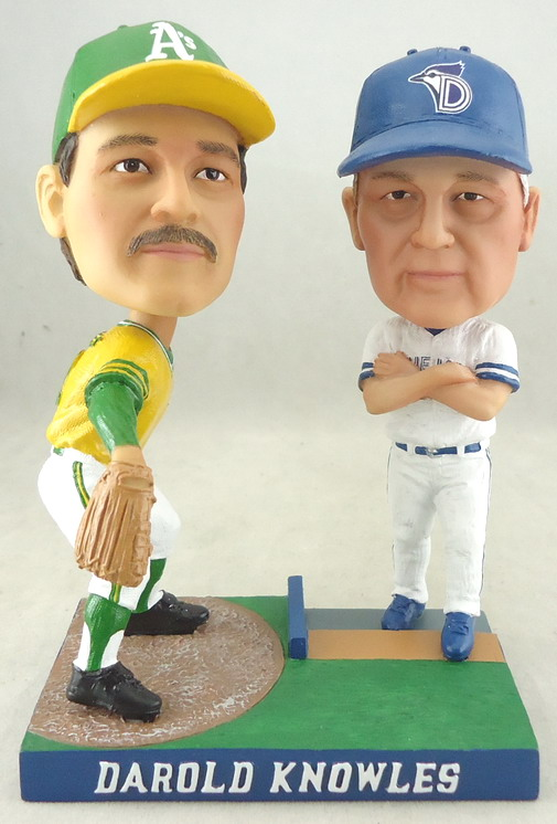 Dunedin Blue Jays - Darold Knowles Then and Now 109307, 5.5in Bobblehead.JPG