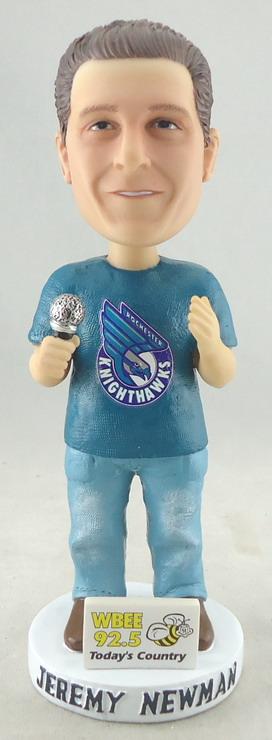 Rochester Knighthawks - Jeremy Newman 109119, 7in Bobblehead.JPG