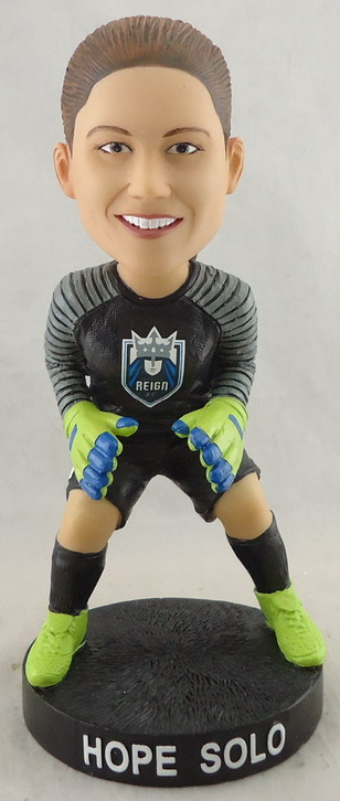 Seattle Reign - Hope Solo 112319, 7in Bobblehead.jpg