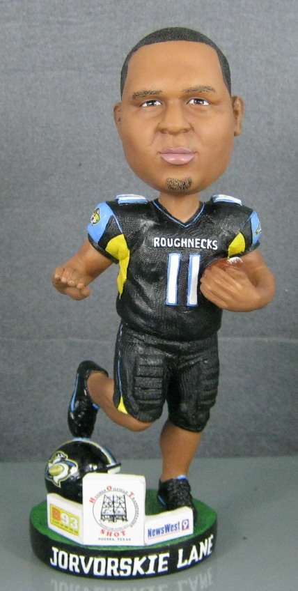 West Texas Roughnecks - Jorvorski Lane 108307, 7in Bobblehead.jpg