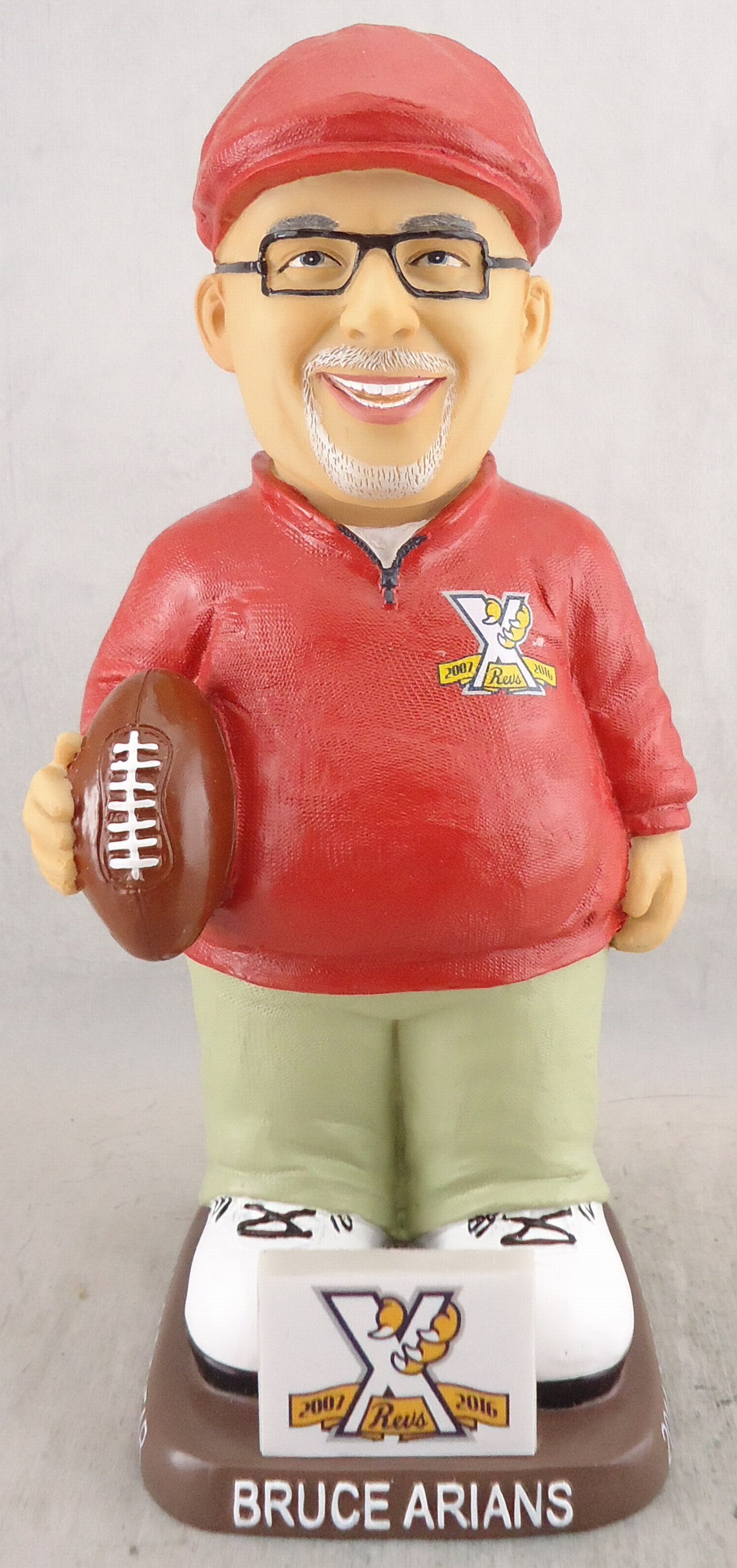 York Revolution - Bruce Arians 111897, 7in Gnome.jpg