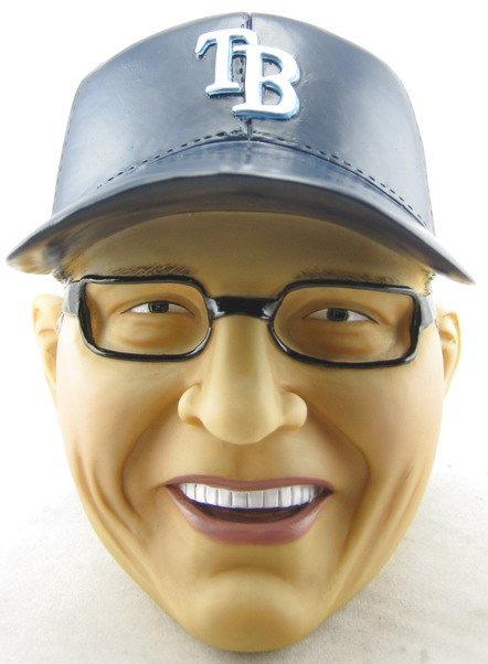 Tampa Bay Rays - Joe Maddon 108661, Head Coin Bank.jpg