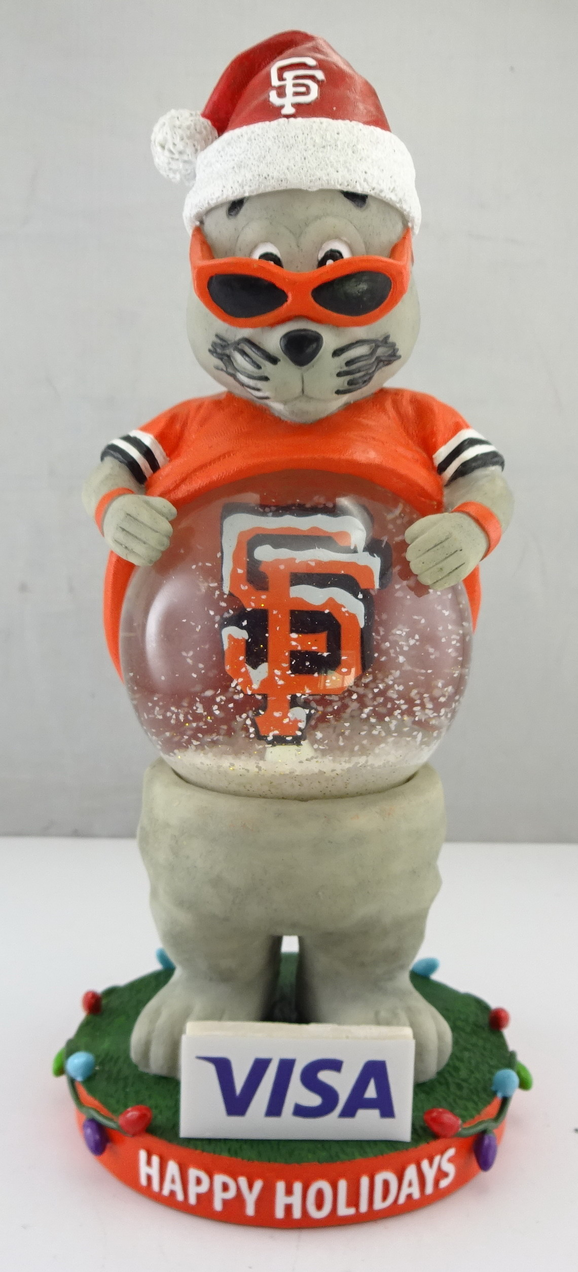 SF Giants - Lou Seal 113777, 7.5in Snowglobe (1).jpg