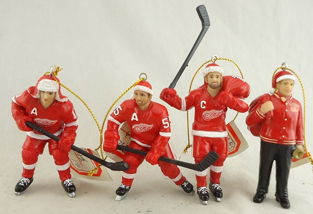 Detroit Red Wings Ornaments.JPG