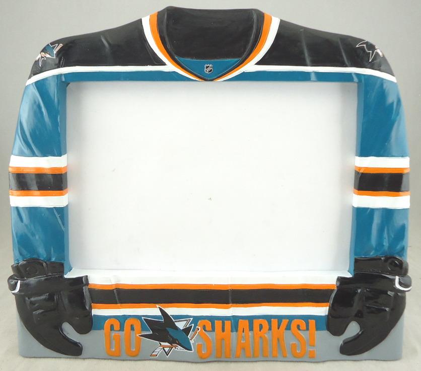 San Jose Sharks - Sharkie Jersey Photo Frame 109418.JPG