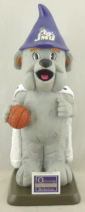 James Madison Unv - Duke Dog 110698, 7inch Gnome.JPG