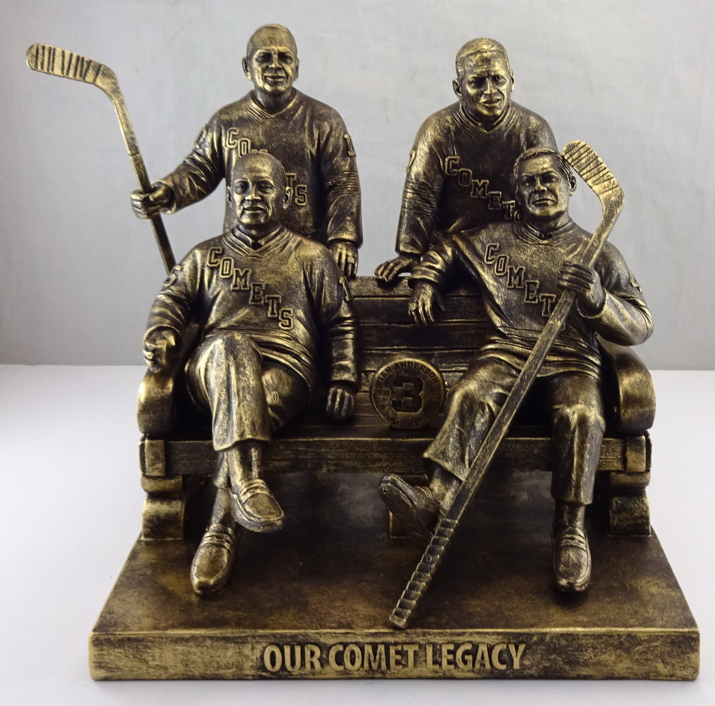 Utica Comets - 6in Bronze Statue - 4 Players 113700 (5).jpg