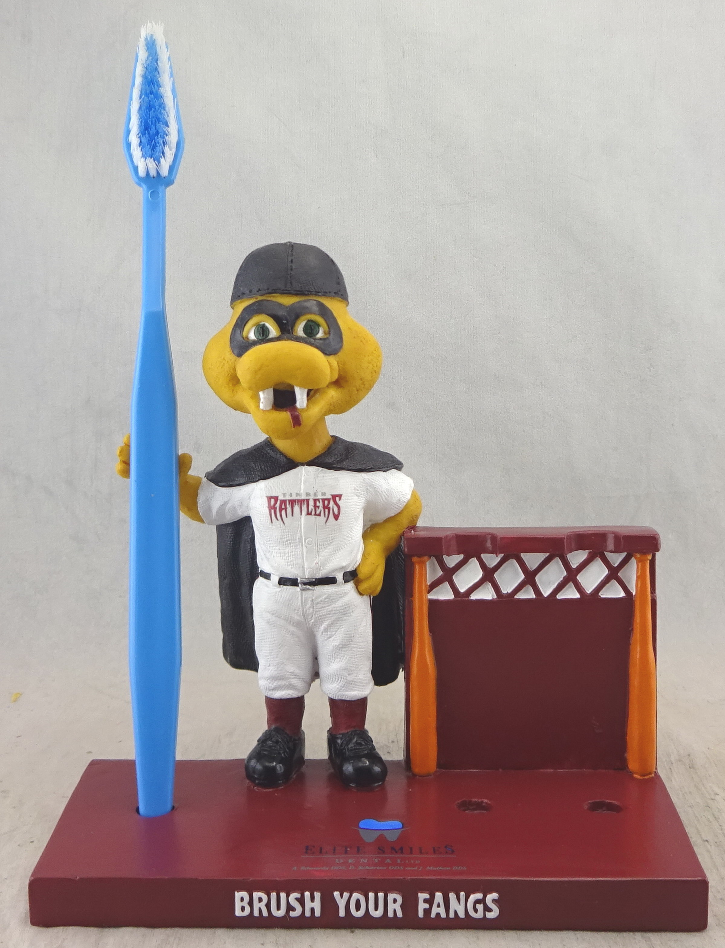 Timber Rattlers, Fang Toothbrush Holder 112765, 5in bobblehead (6).jpg