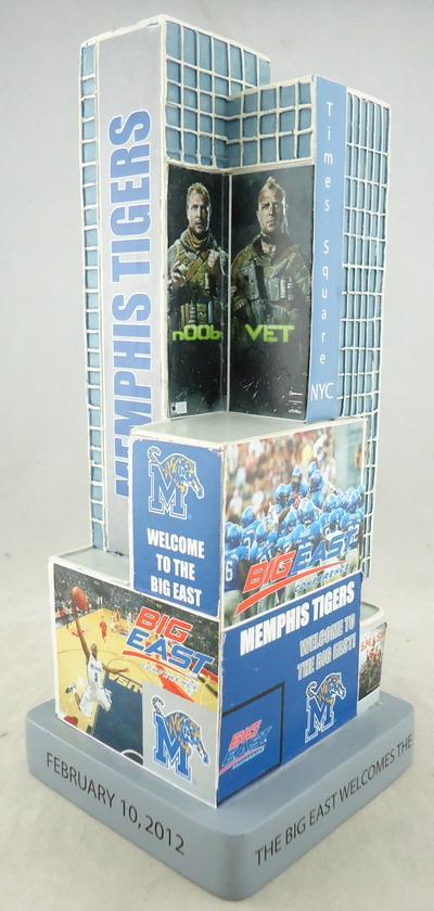 University of Memphis - Time Square Replica 109313, 7in Replica.JPG
