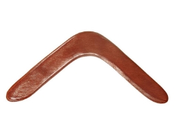 Australian returning handmade basic boomerang 17 inch