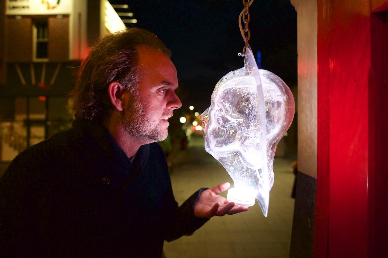 Artist: Michael Morgan; Venue: Telematic Cafe; Photographer: Ferne Millen