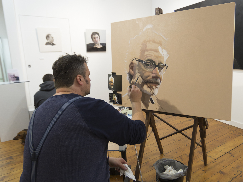Artist: Steve Salo; Venue: Metropolis Gallery; Photographer: Matt Houston