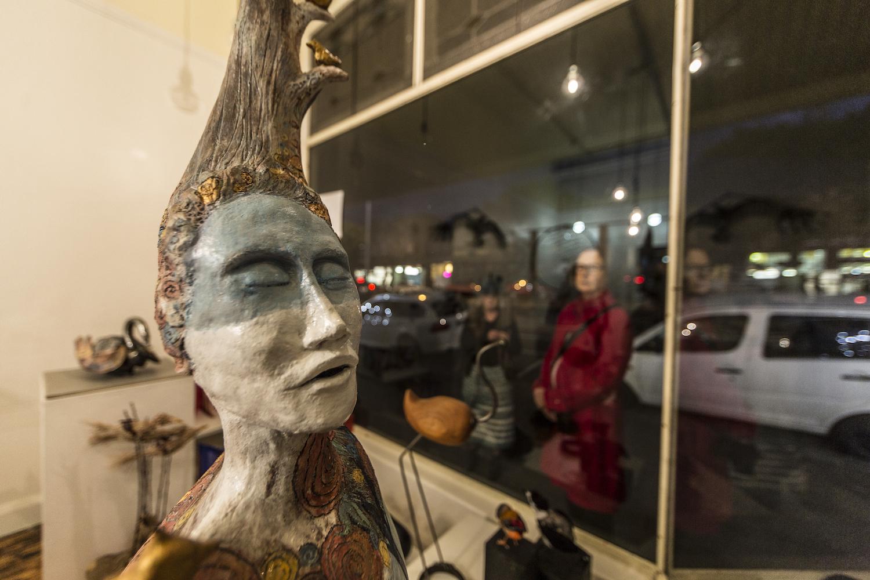 Artist: Geelong Sculptors, Birds of a Feather; Photographer: Matt Houston