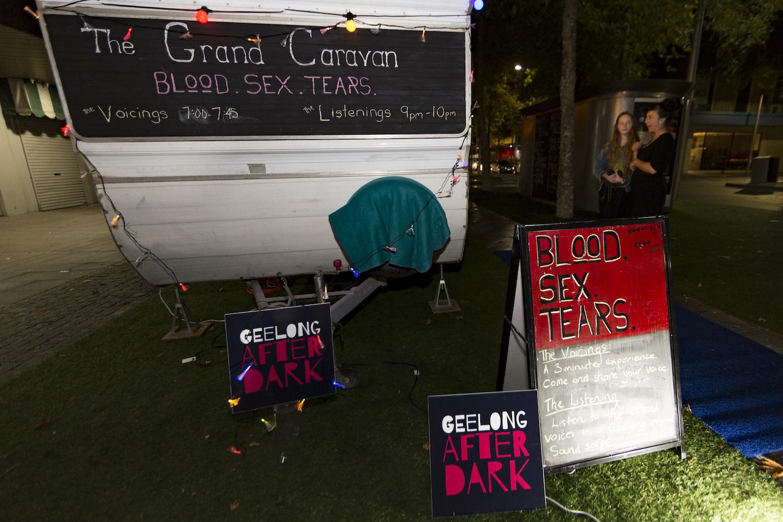 Artist: The Grand Canyon, Blood. Sex. Tears.; Photographer: Matt Houston