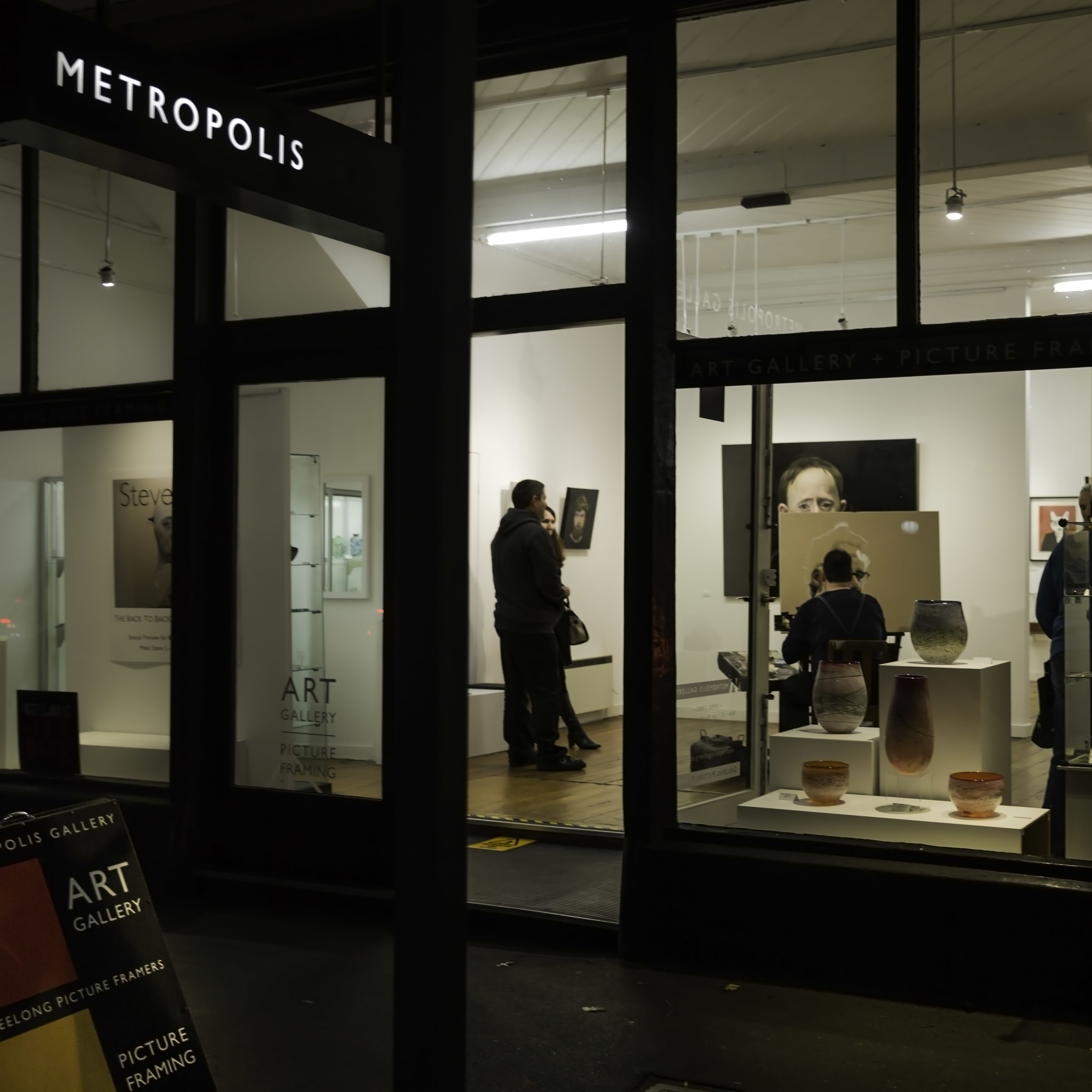 Venue: Metropolis Gallery; Photographer: Matt Houston