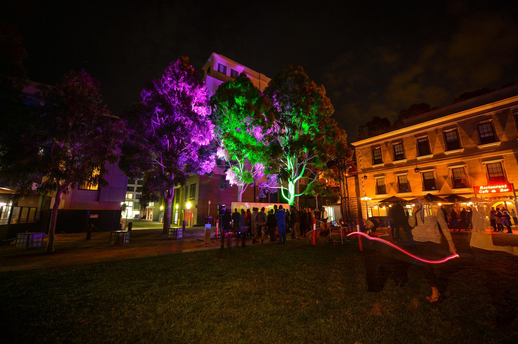 Luminance Lab: Telekinetic. Photograph by Reg Ryan.