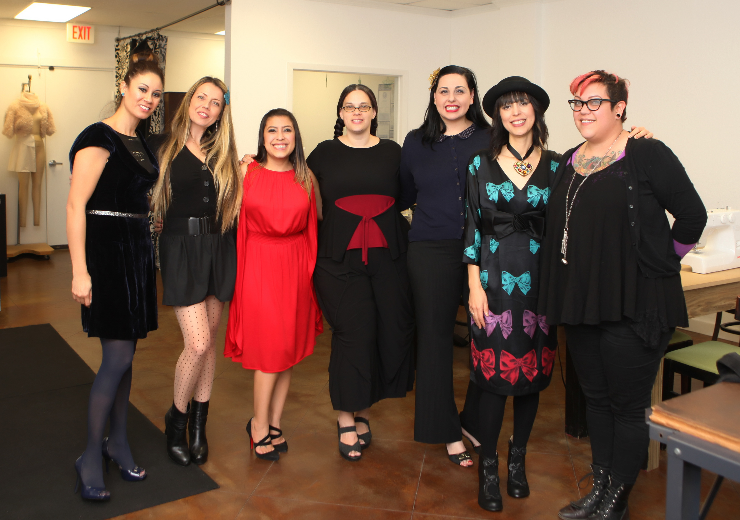 Photography by Beatriz-ASFD-Austin School of Fashion Design-Holiday Party-Austin-Fashion School