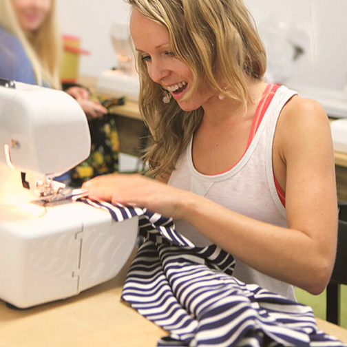 """I can use all sewing machines at #ASFD with NO RENTAL FEES, while during my classes"""